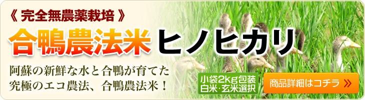 合鴨農法米ヒノヒカリ