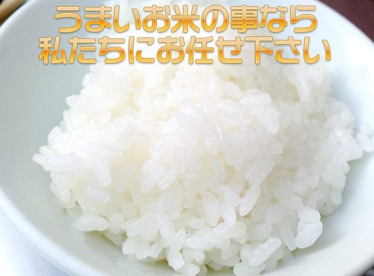 うまいお米の事なら私たちにお任せ下さい