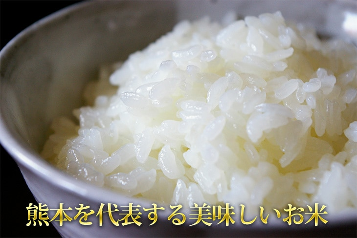 熊本を代表する美味しいお米