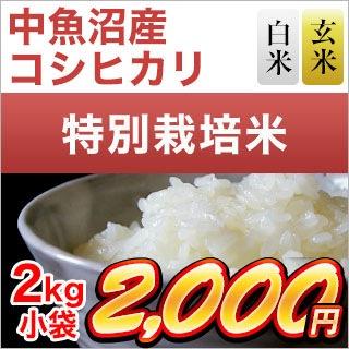 新潟県中魚沼産 コシヒカリ 2kg