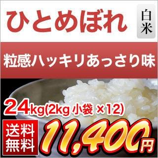 茨城県産ひとめぼれ24kg