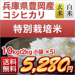 兵庫県豊岡産 コシヒカリ10kg