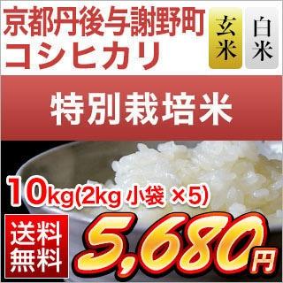 京都府丹後産 コシヒカリ10kg
