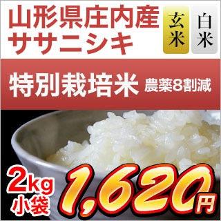 山形県庄内産 ササニシキ 2kg