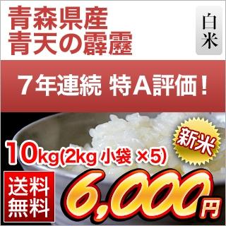 青森県産 青天の霹靂10kg