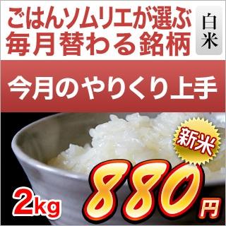 福井県産 つきあかり2kg