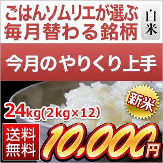 福井県産 つきあかり24kg