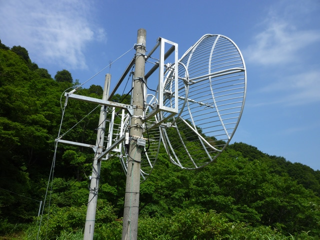 電波受信機の非常用電源に