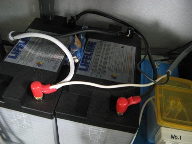大電流が出し入れできるLIFELINEバッテリー