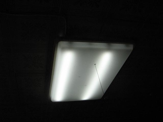 オフグリッド電源時のリビング照明