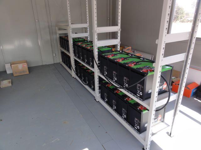 リチュウムイオン蓄電池 設置事例3