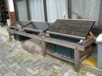 縁側台を架台へ加工