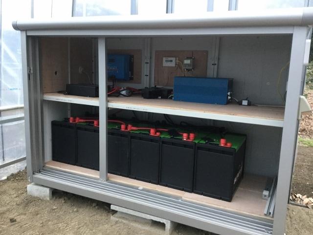 リチュウムイオン蓄電池 設置事例4