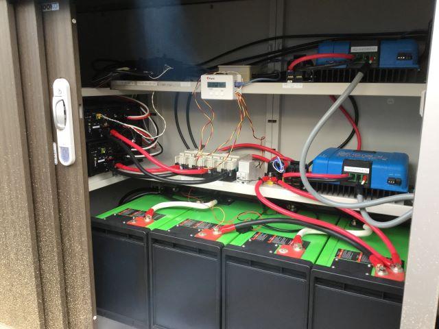 リチュウムイオン蓄電池 設置事例5