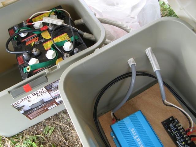 機器収納Boxの例