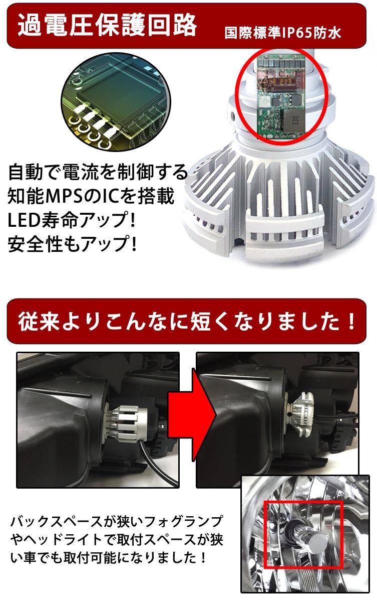 過電圧保護回路 LED寿命アップ! 安静性アップ!