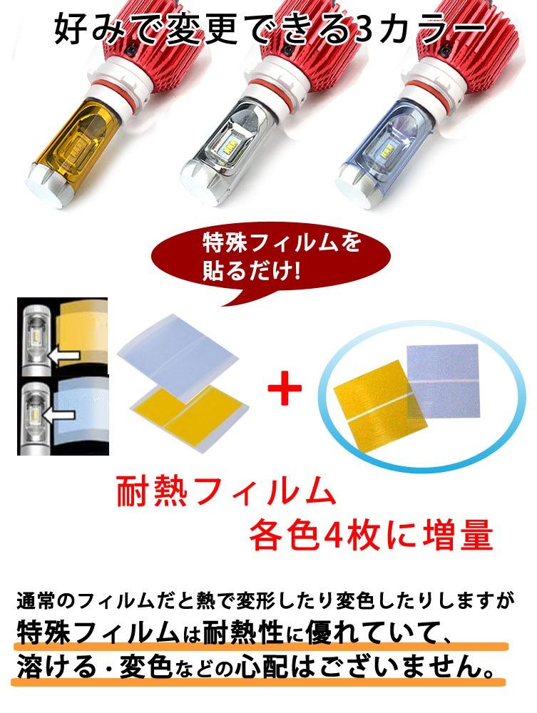 特殊フィルムを貼るだけでカラー変更可能