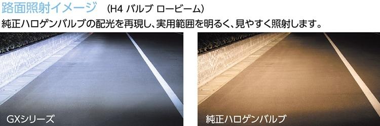 路面照射イメージ