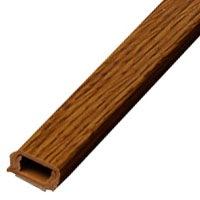 配線モール 0号 木目オーク 1m テープ付き 1本_DZ-MMT01-WK 00-9984
