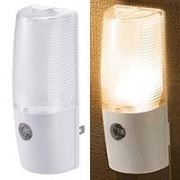 LEDナイトライト 明暗センサー 橙色LED|NIT-ALA6MCL-WL 06-0630