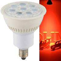 LED電球 ハロゲンランプ形 E11 調光器対応 中角タイプ 赤色|LDR7R-M-E-11/D 11 06-0961