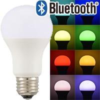 LED電球 Bluetooth対応 E26 60形相当 広配光 調色/色相調整タイプ|LDA8-G/RGB/I 1 06-0974