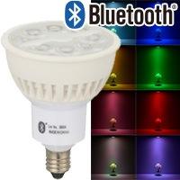 LED電球 ハロゲンランプ形 Bluetooth対応 E11 中角 調色/色相調整タイプ|LDR7-M-E11/RGB/I1 06-0976