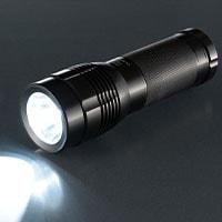 防水LEDライト IPX8 水中形 SPARKLED 550lm|LHA-SP331-K 08-0013