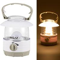 ECLAT LEDランタン 70lm 電球色|LN-07B7-W 08-3128