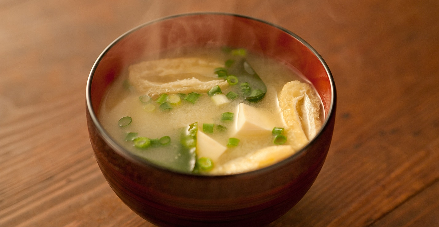 和風だし一番で作った味噌汁
