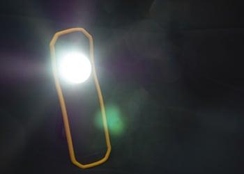 強力LEDライト使用例