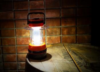 LEDランタン使用例