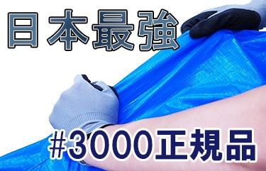 超高耐久 #3000正規品 ブルーシート