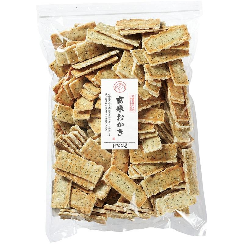 玄米おかき素焼き大袋