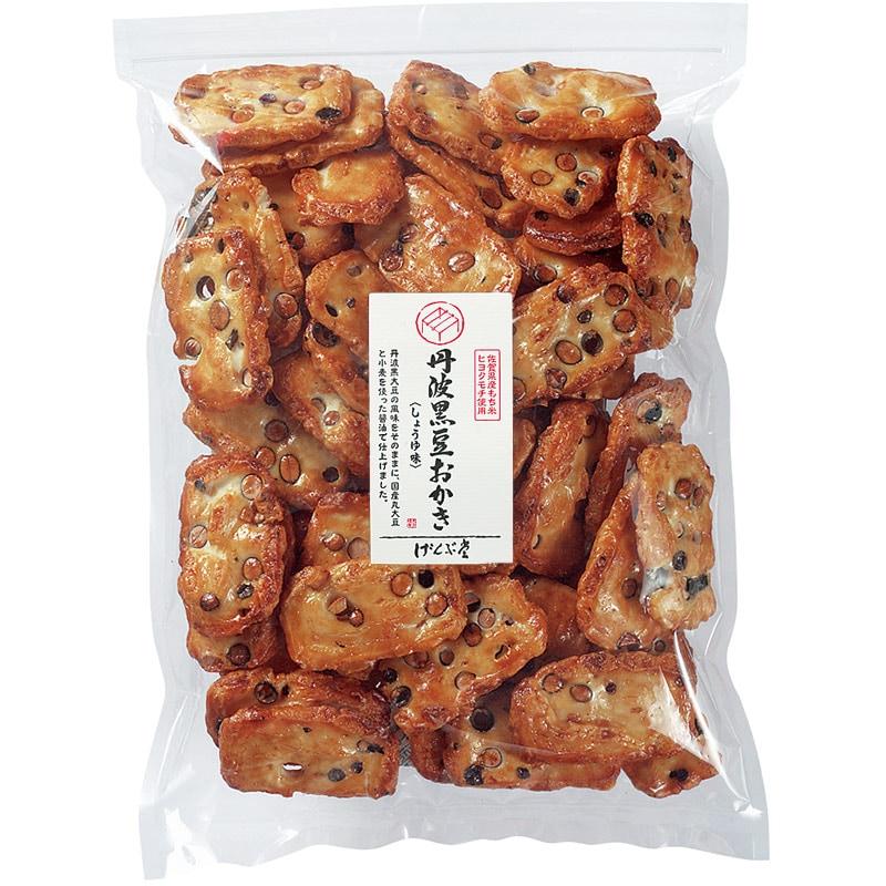 丹波黒豆おかき醤油味大袋