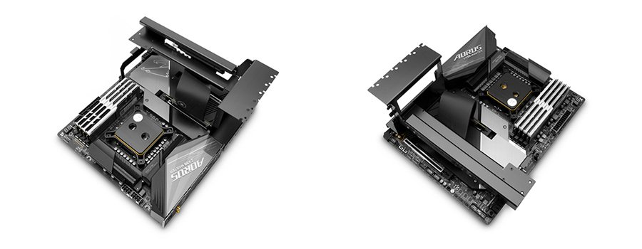 Vertical GPU bracket EK Vertical GPU Holder - Shifted