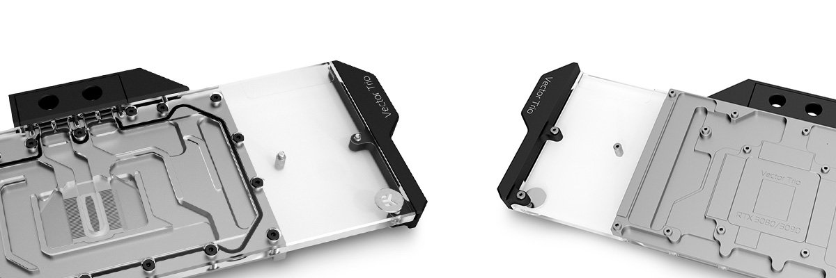 EK Vector Water block for the MSI Trio RTX 3080 and 3090 GPUs