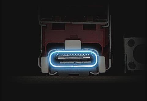 USB 3.2 Gen 2x2 Type-Cポートを搭載