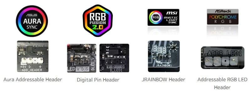 マザーボードのイルミネーションと同期可能なRGBファン搭載