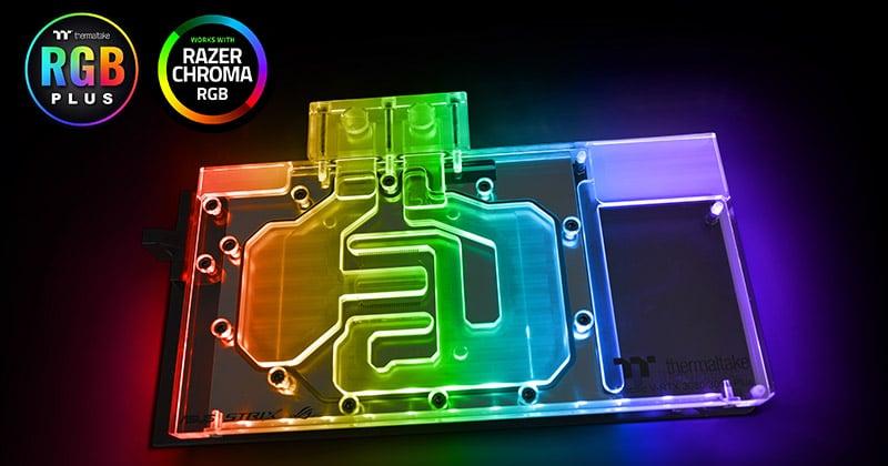 「TT RGB PLUS」ソフトウェアによるコントロールに対応