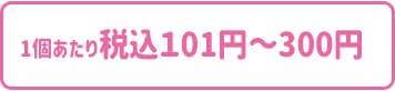101円〜300円