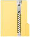 圧縮ファイルアイコン