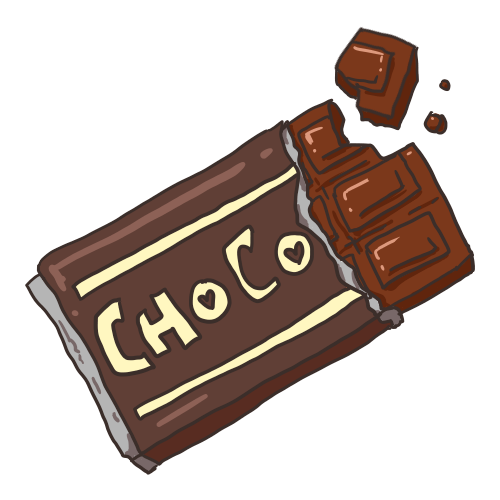 チョコイラスト