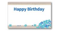 5)誕生日-花