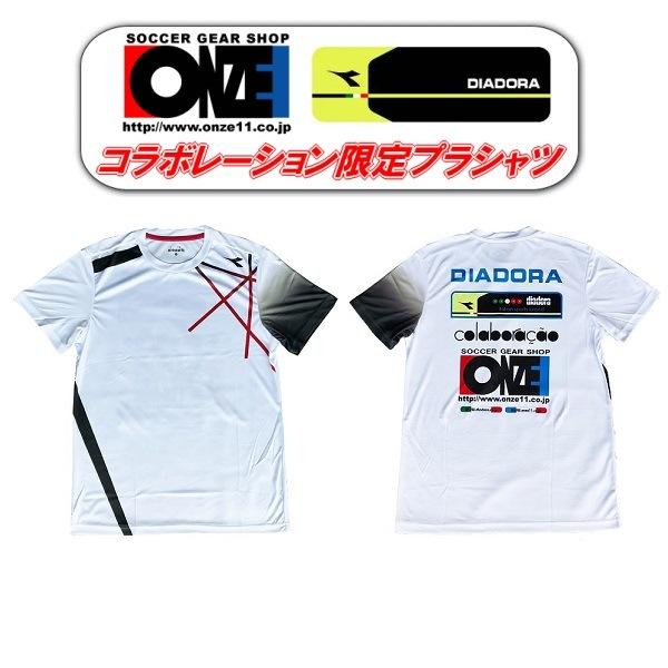 DIADORA/ONZEコラボプラシャツ追加入荷しました!