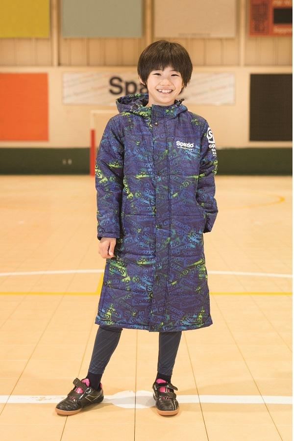 【スパッツィオ激安セール】TP-0524 Spazio(スパッツィオ) Jr.ロゴ中綿ベンチコート