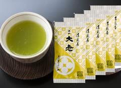 濃煎茶 大老月 100g×5袋セット 【レターパック代込み 同梱不可】