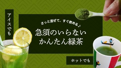 急須のいらないかんたん緑茶