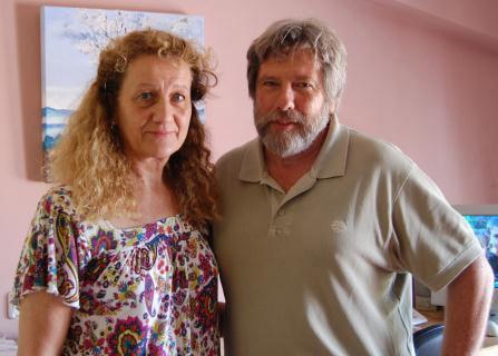 レネ・バルビエ氏と奥様のイザベルさん