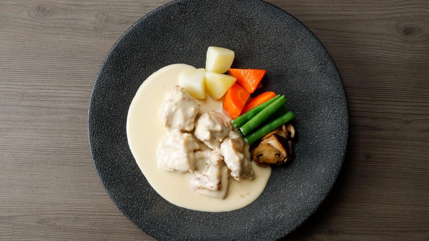 鶏のフリカッセ(クリーム煮)